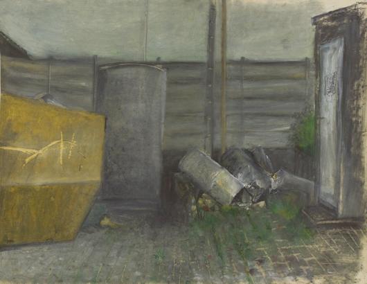 150 x 100 cm, acrylique, 1992