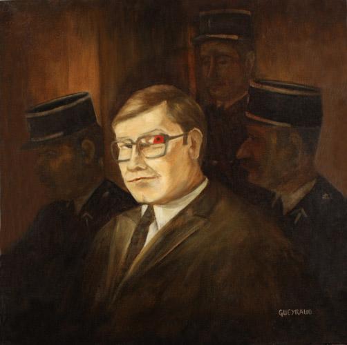 60 x 60 cm, huile, 2003