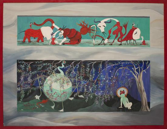 65 x 50 cm, gouache, 1981