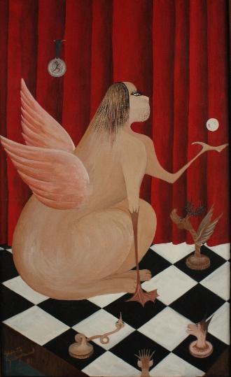 55 x 30 cm, gouache ,1981
