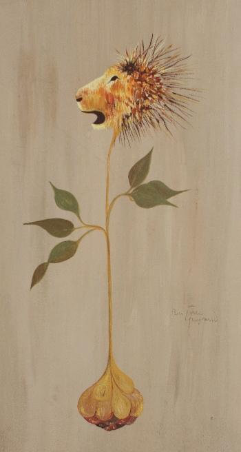 15 x 30 cm, gouache, 1981