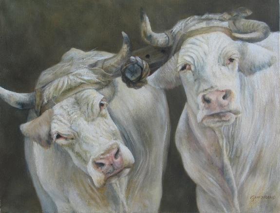 54 x 65 cm, huile, 2001