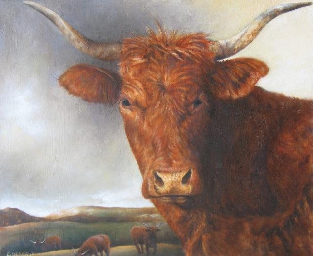 50 x 61 cm, huile, 2002