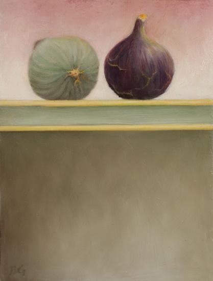 24,5 x 18,6 cm, huile sur bois, 2008'