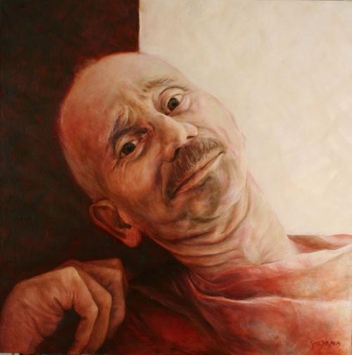 80 x 80 cm, huile, 2005