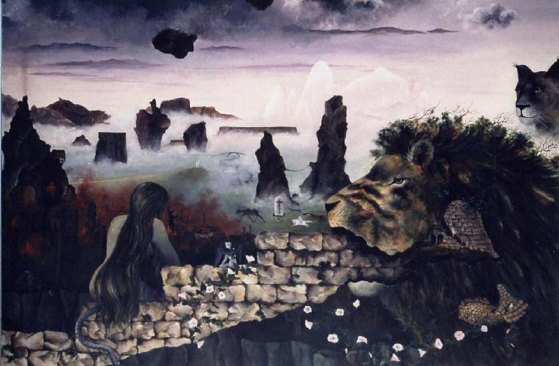 130 x 195 cm, acrylique, 1985