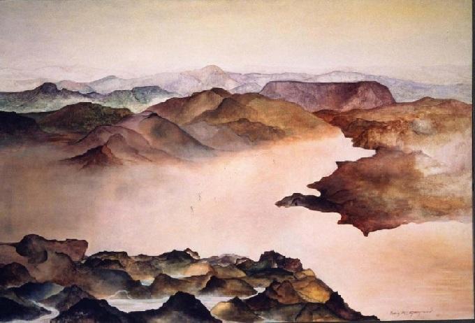 89 x 146 cm, acrylique, 1982