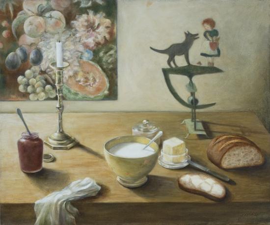 65 x 54, huile, 1999