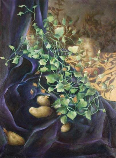 100 x 81 cm, huile, 2003