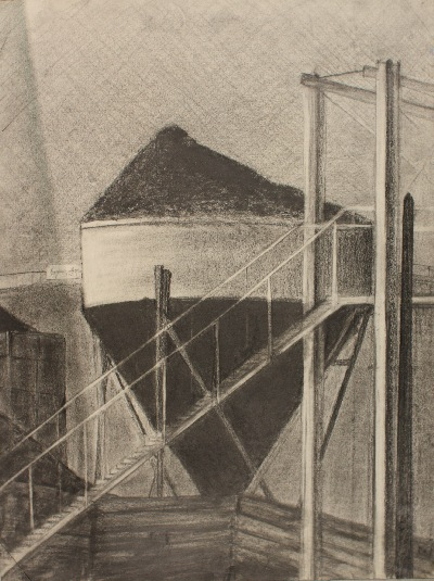 38 x 27 cm, graphite, 1990