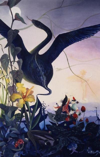 92 x 65 cm, acrylique, 1990