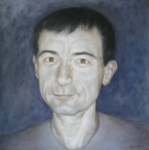 60 x 60 cm, huile, 2000