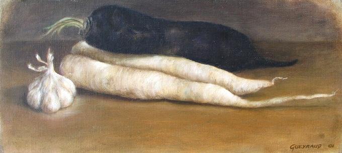 18,5 x 41 cm, huile, 2004