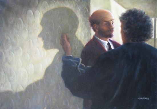 65 x 92 cm, huile, 2001