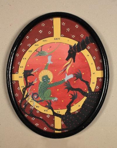 20 x 30, gouache, 1983
